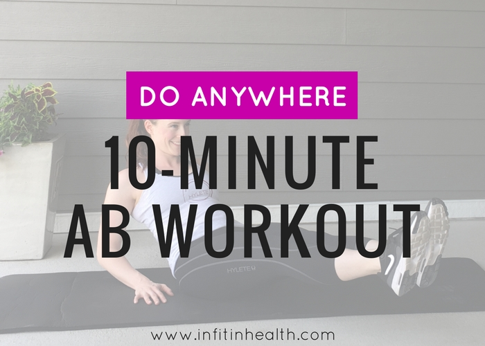 10-Minute Do Anywhere Ab Workout