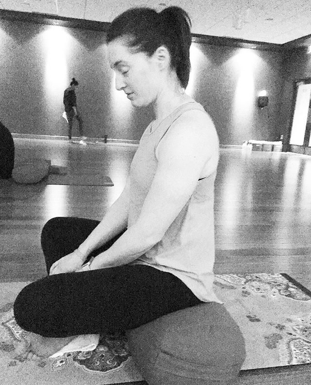 = d i s c o m f o r t = . 😱 Get comfortable getting uncomfortable. That's what happened today in my first-ever Surrender to Be class at @lifetime.life. My goal for this year is to slow down and be mindful, and today's Yin-style yoga + meditation was just what I needed. . ☺️ Learn to feel discomfort, push past it, move through it, and then be still. Breathe. It was quite uncomfortable for me to just... be. Passive. Not active. I'm always active. Muscles are always tense (usually), especially in the types of classes I teach. . 🙏🏻 Today was different. And I loved it. . ✨ Huge thank you to Meredith Causton for leading a great practice today. It's what I needed, and I'll definitely be back for more. ❤️ . . . . . . . . . #ltemployee #LoveYourLife #fitness #yoga #meditation #surrendertobe  #dowhatyoulove #lovewhatyoudo #sweatpink #fitfluential #bloghealthy #inspiringfitness #inspiringchange #passion #DoWhatMovesYou #moveyourbody #letsmove #movemore #movemorefitness #girlgetafterit #sweatonceaday #instafit #fitnessinspiration #BFHealth #iamwellandgood #fitnessblogger #wellnessblogger