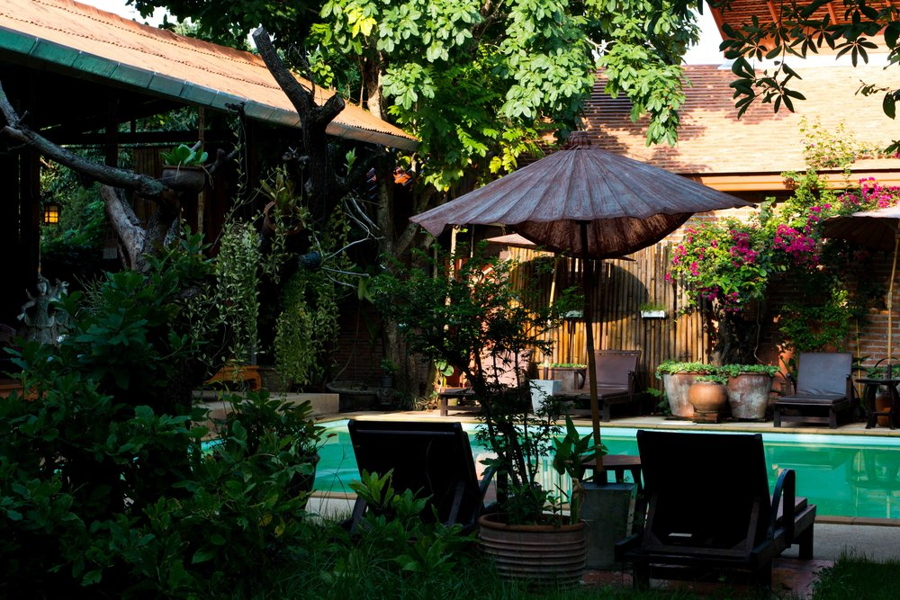 Chiang Mai, Thailand - Located outside of the action of Old Town but still accessible to both the city & surrounding mountains, this guesthouse makes the planning of hikes & excursions easy while also providing a free shuttle into downtown Chiang Mai for more bars, restaurants, markets & temples.CUSTOM PACKAGES STARTING AT $75 USD/ PERSON/ NIGHT