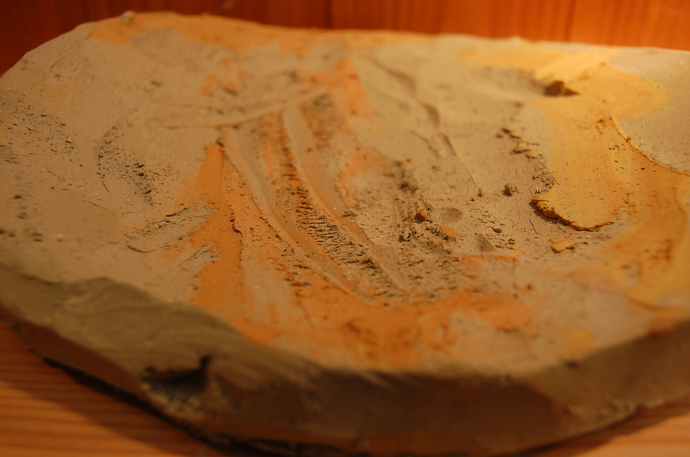 locally sourcing clay for pottery