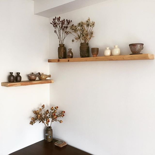 Installed new shelves today 🍶