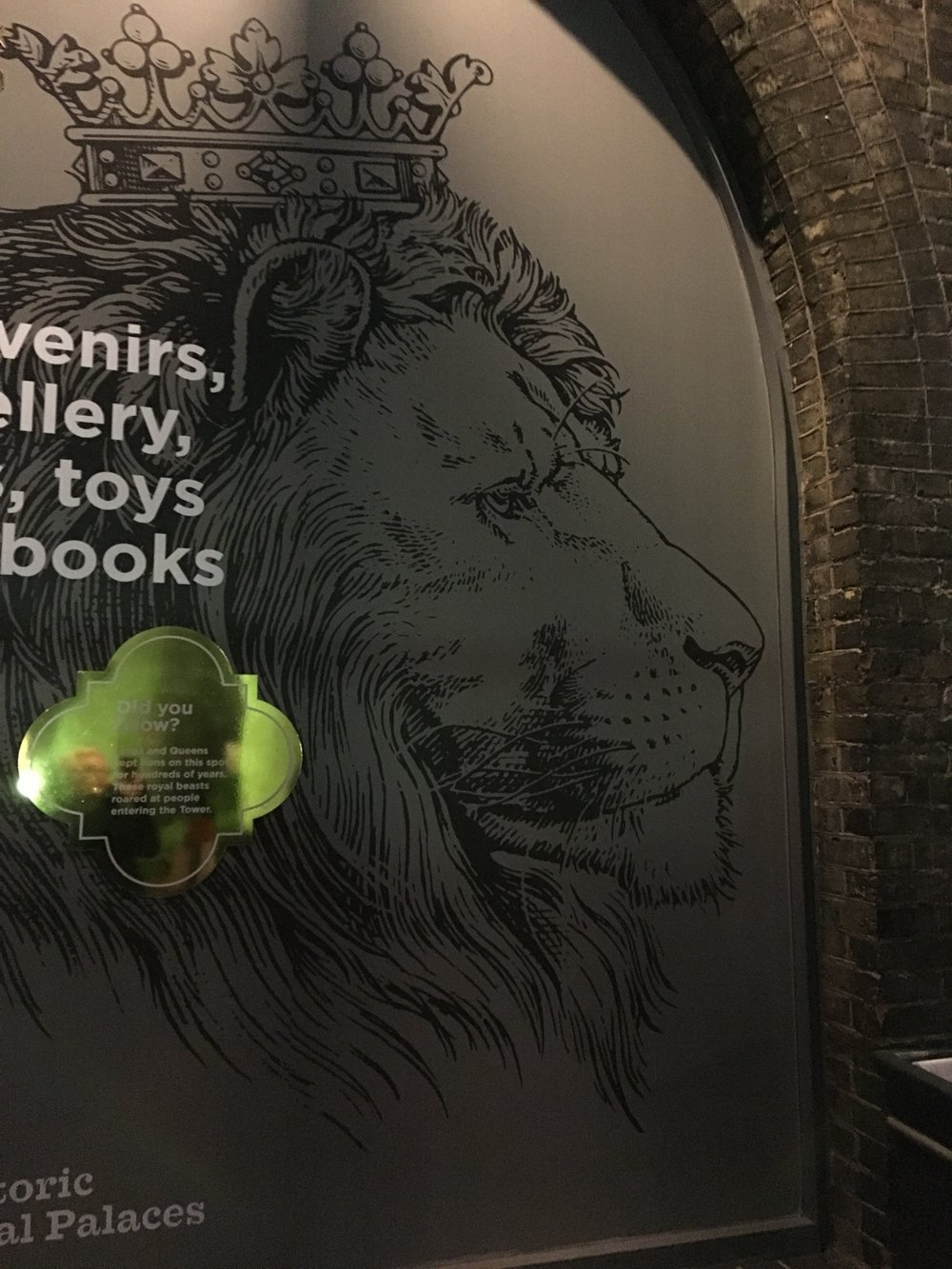 London is big on lions...and unicorns.