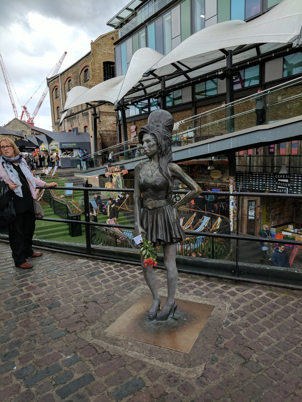 Amy Winehouse in Camden Market