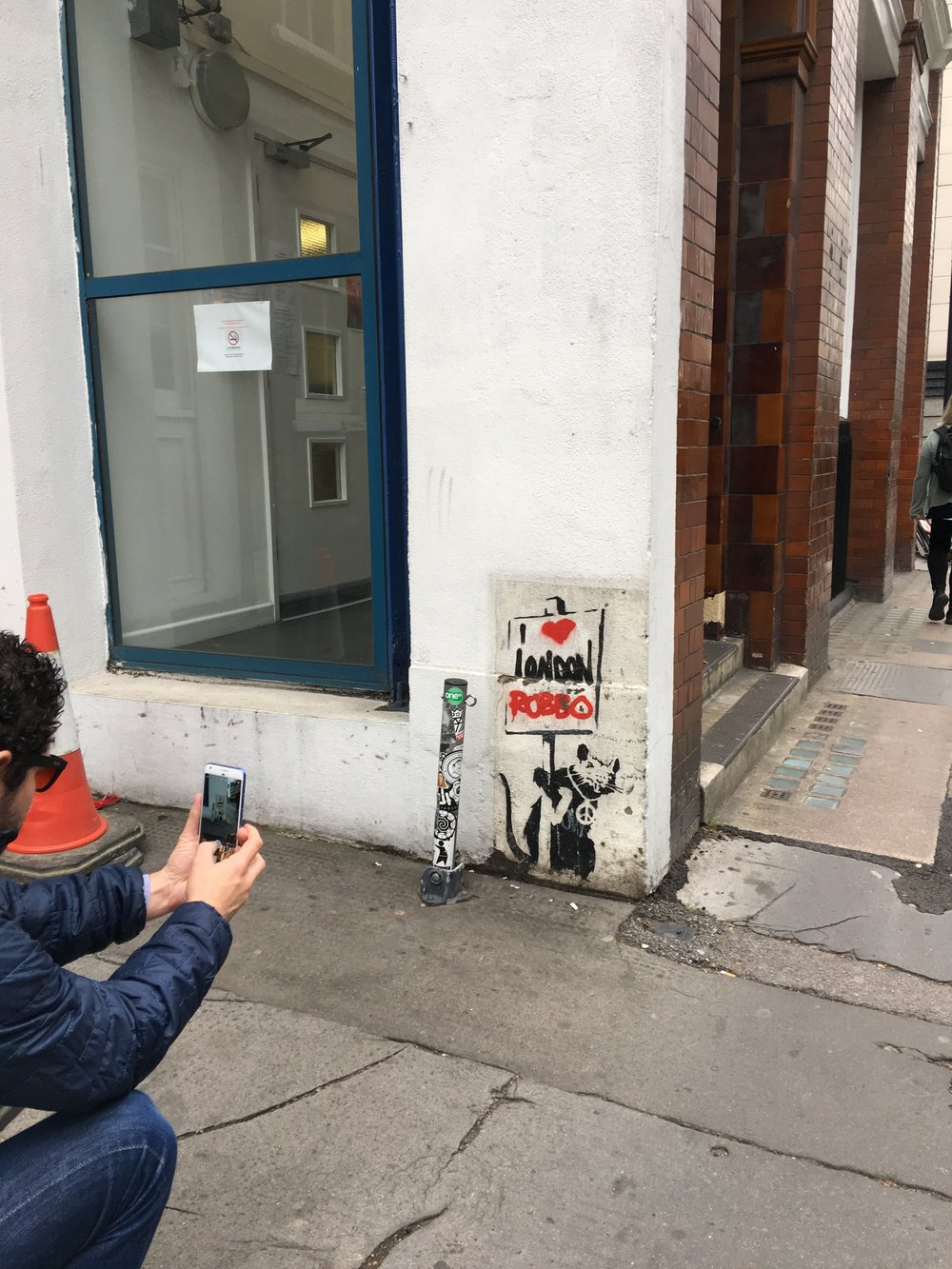 Not new, but still a real Banksy.