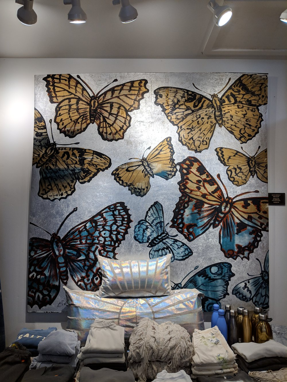 butterfly painting @ the barn 808