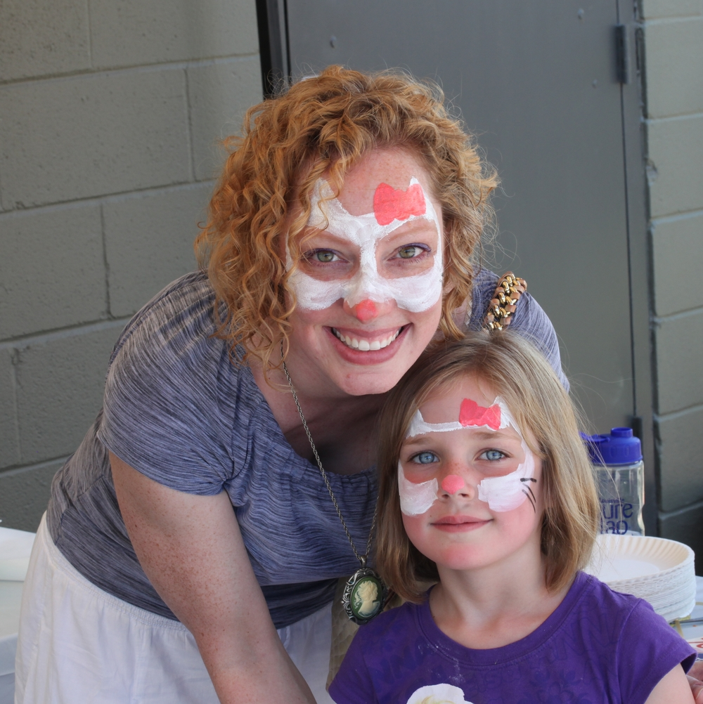 Facepainting by Rebecca Minnick