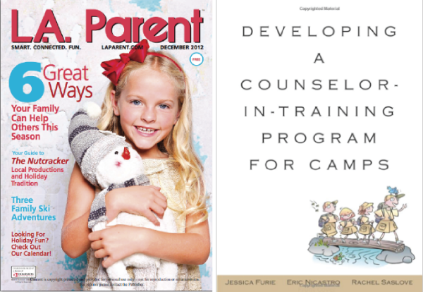 Helping Your Child Beat Summer Camp Homesickness.This article gives you three helpful tips that can help ease any type of separation that your child may experience going to camp, grandma's house, or a school trip. LA Parent Magazine. Growing the Hard Way. How do you help kids face their fears? Click on the link to learn how. LA Parent Magazine.