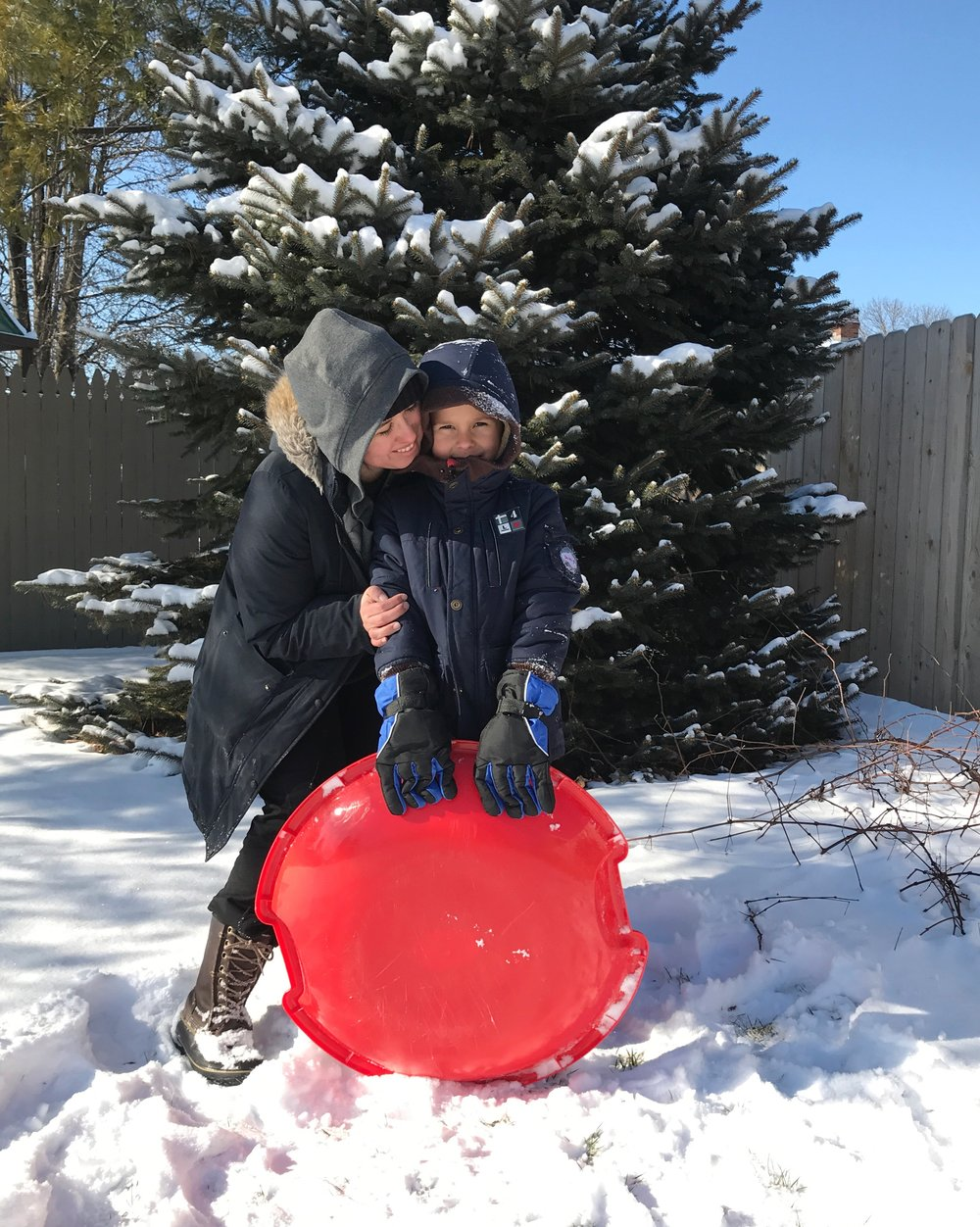 Snow Day | TetherAndFly.com
