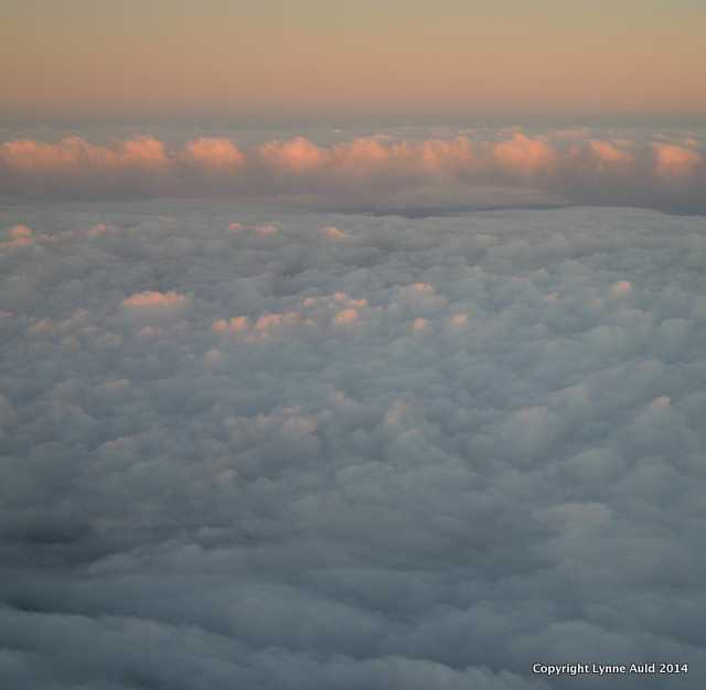 Sunset, Above the Clouds