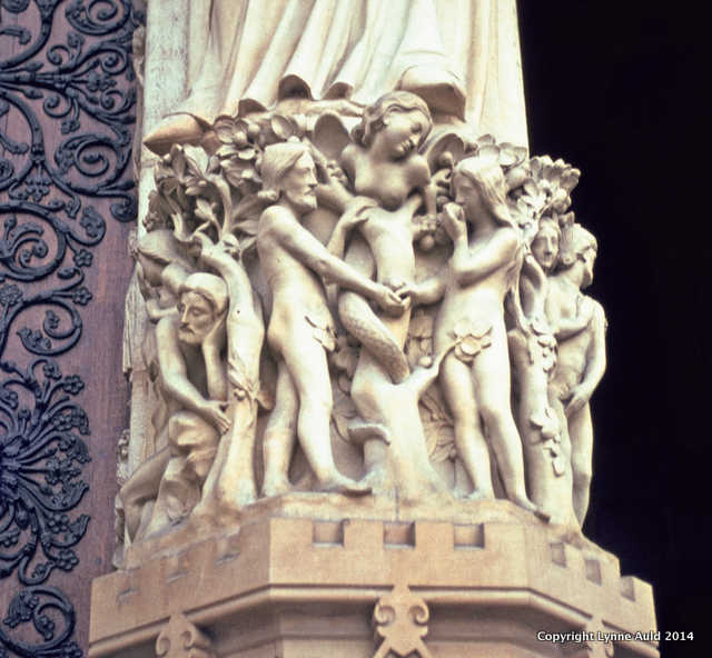 Adam, Eve and the Serpent, Notre Dame
