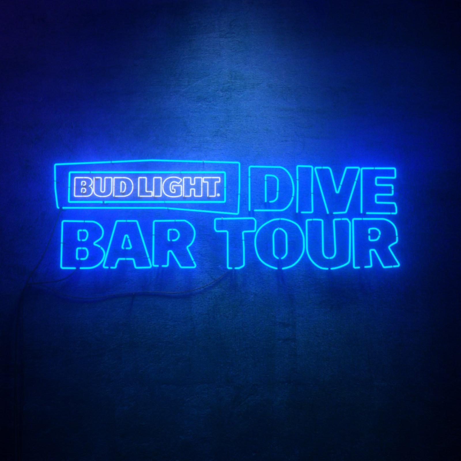 post malone x bud light dive bar tour — J I H Y E