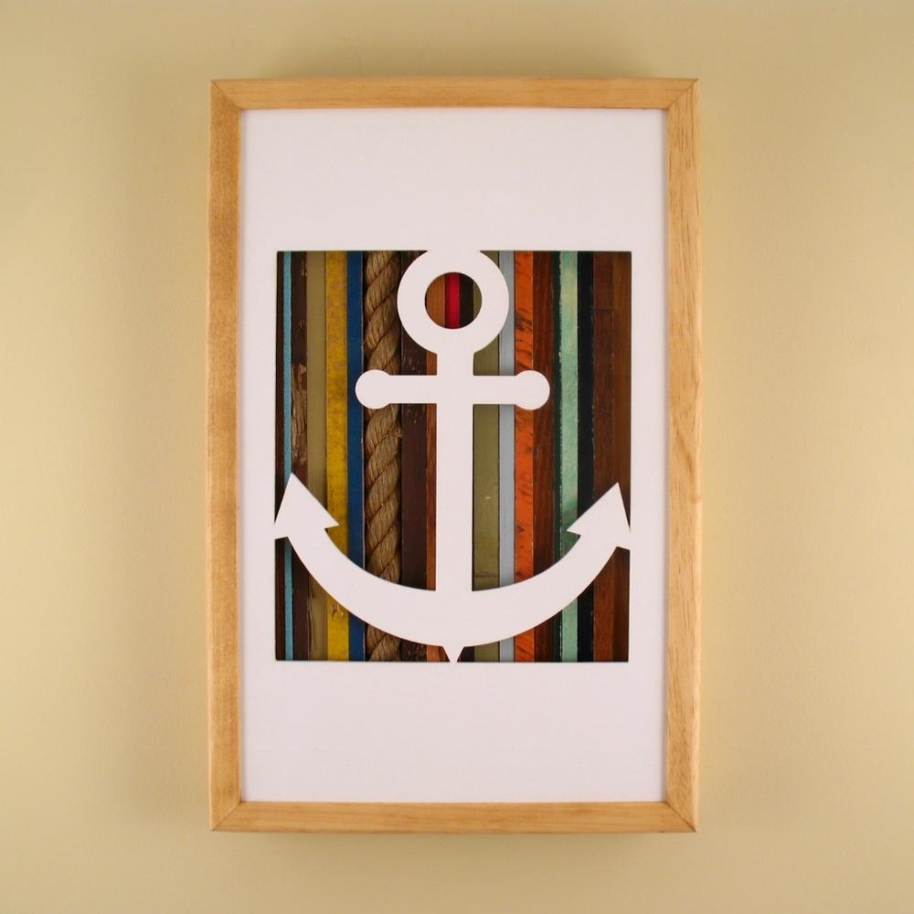 """Anchor - 17"""" x 11"""" x 2"""" - $175.00"""