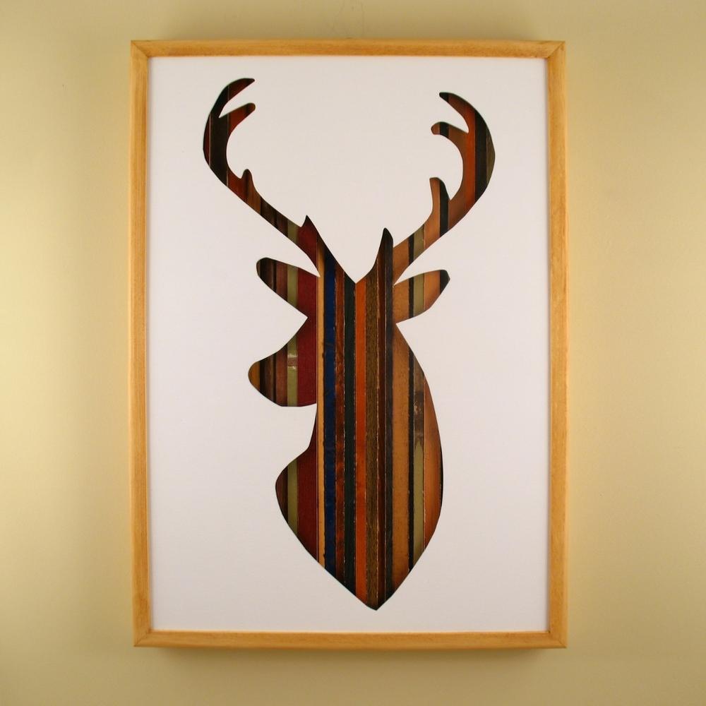 """Deer - 17"""" x 11"""" x 2"""" - $175.00"""