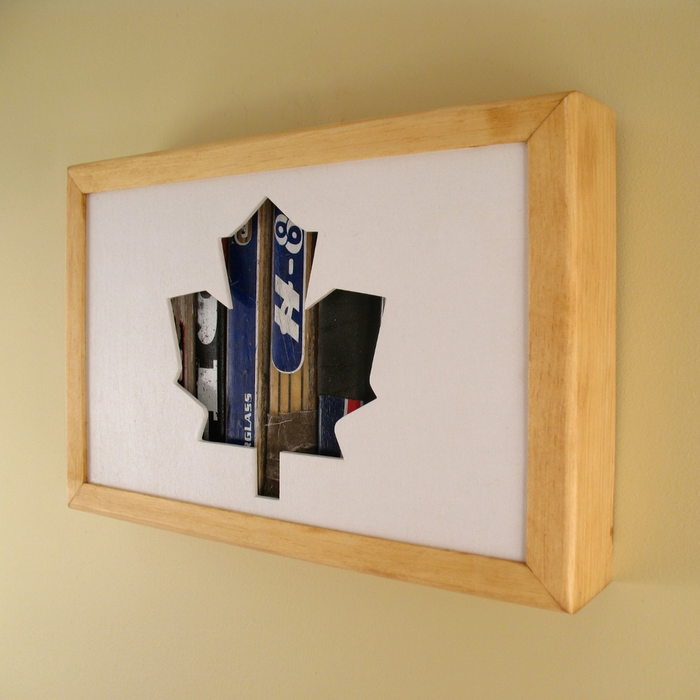 "Toronto Maple Leaf - 12"" x 8"" x 2"" - $115.00"