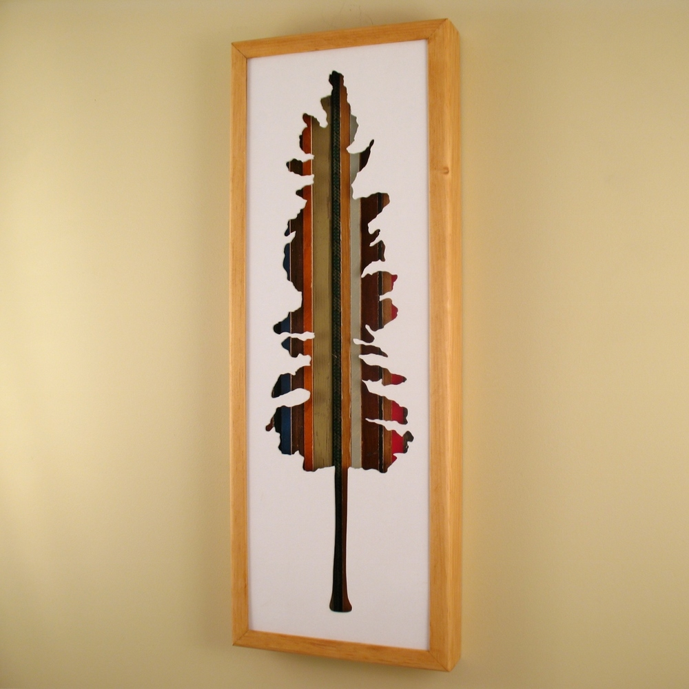 "Tree - 24"" x 8"" x 2"" - $175.00"