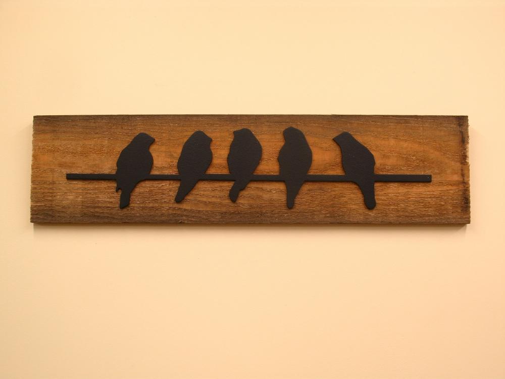 Birds on a Line - $45.00
