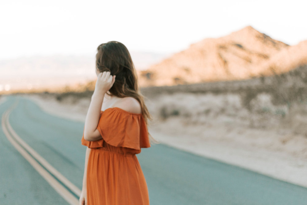 Portraits in Joshua Tree National Park | isitRachelle
