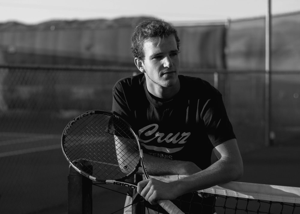 Sunset Tennis Shoot - April 3rd, 2018 - Joshua Tree, CaliforniaI recently did a shoot with my brother on a tennis court out here in the desert near Joshua Tree, California. I absolutely love the way the sunset light was casting intense shadows around the court. Here is the full set of images!