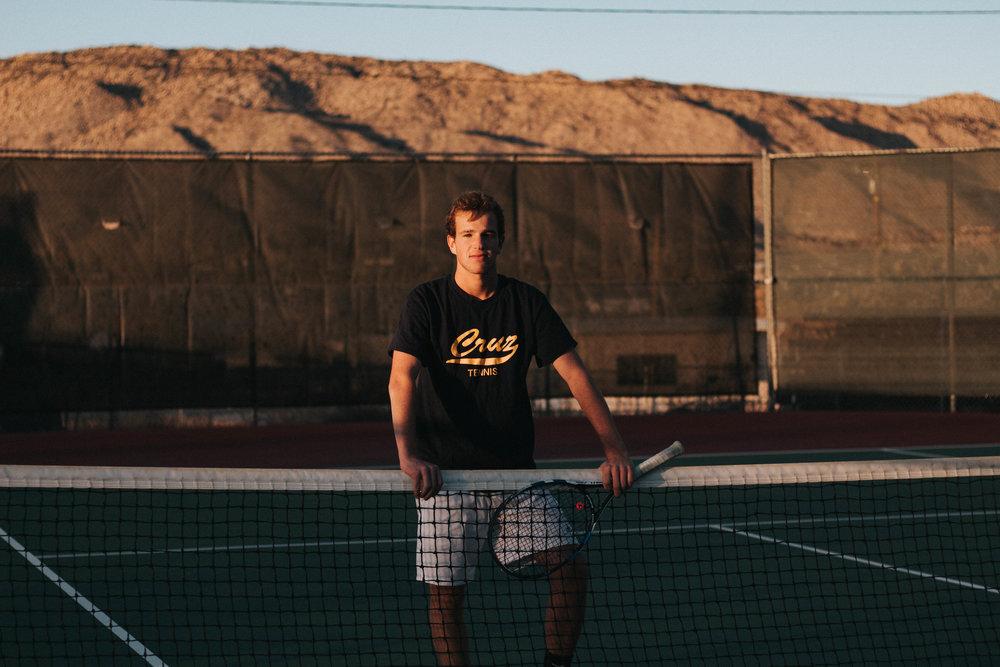 Sunset Tennis Photoshoot in Joshua Tree, CA   isitRachelle