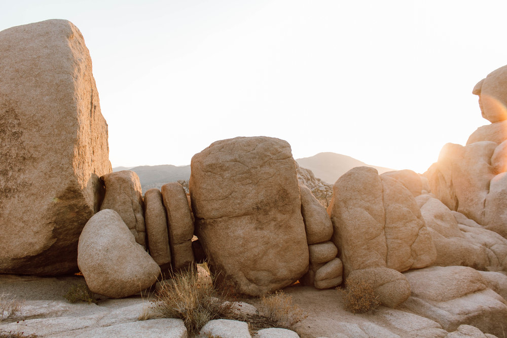 Boulders in Joshua Tree National Park, CA | isitRachelle