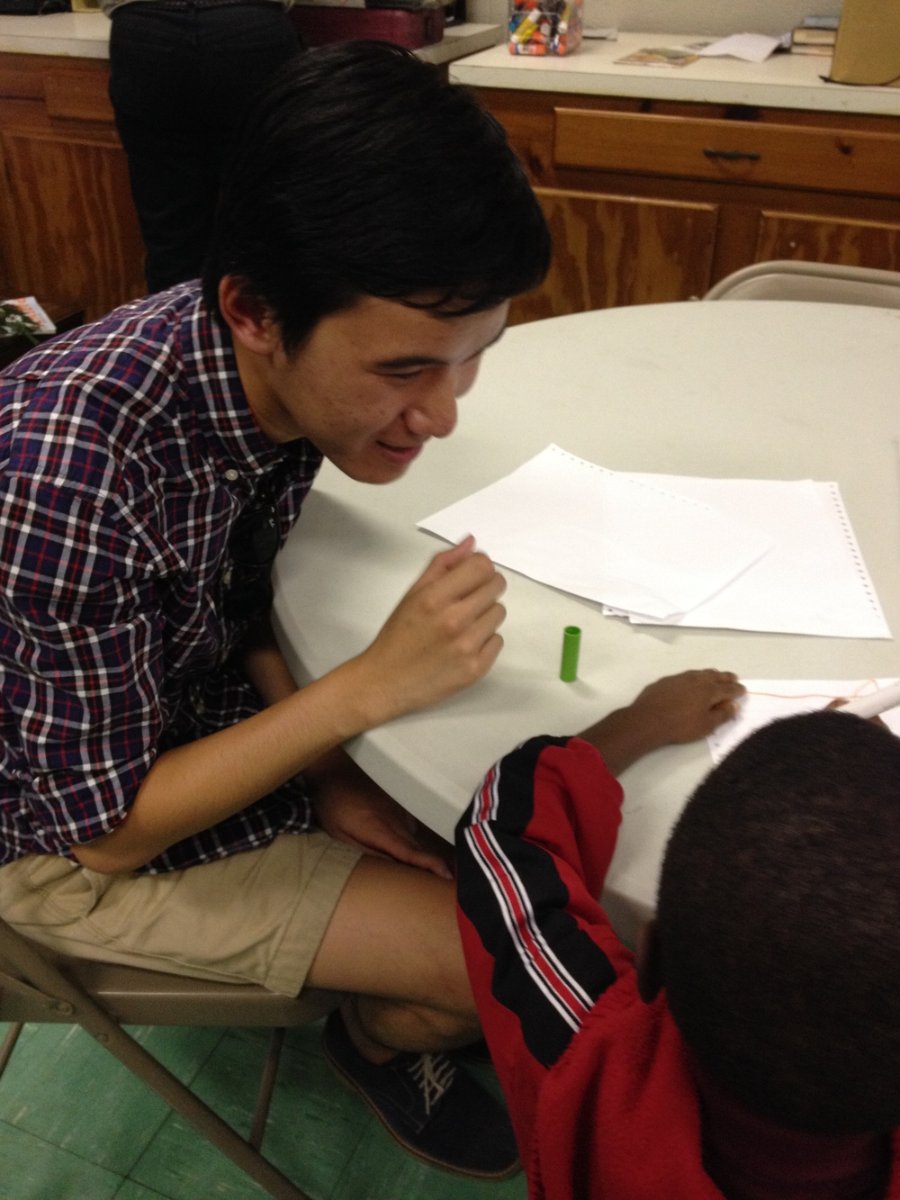 After-school tutoring at a BREC facility