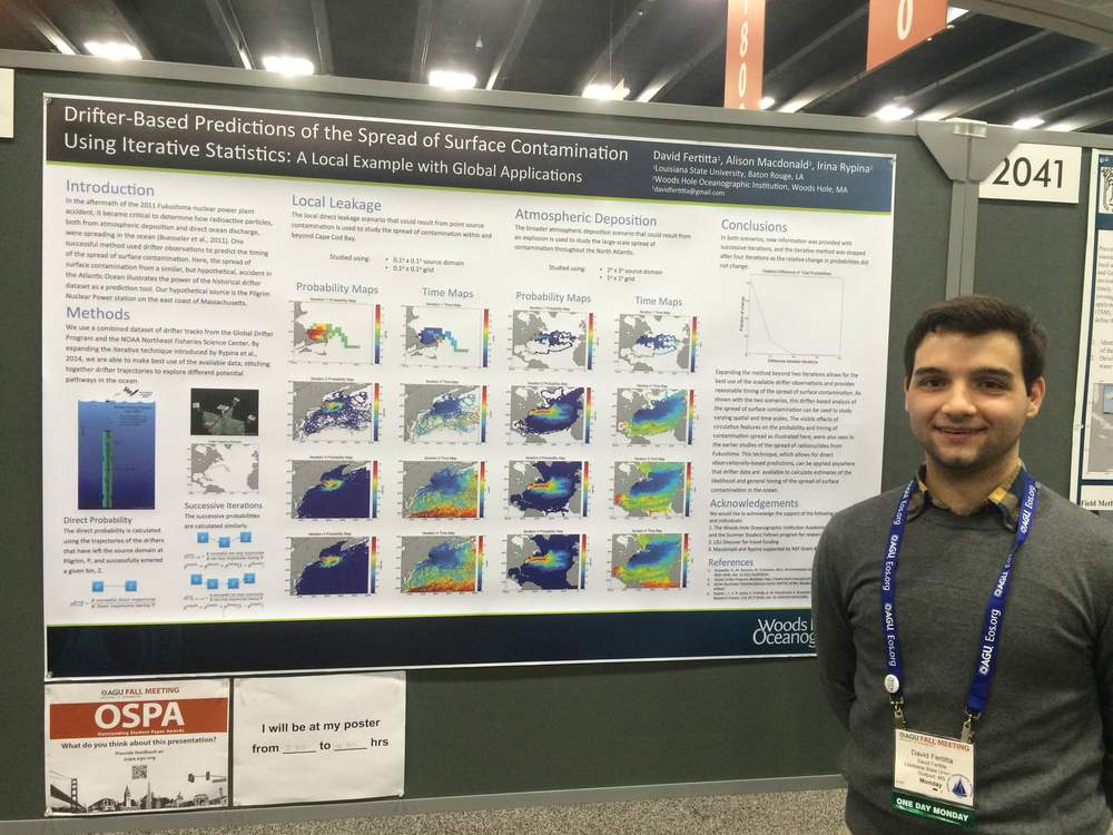 Taken at the 2015 American Geophysical Union Fall Meeting in San Francisco, CA.