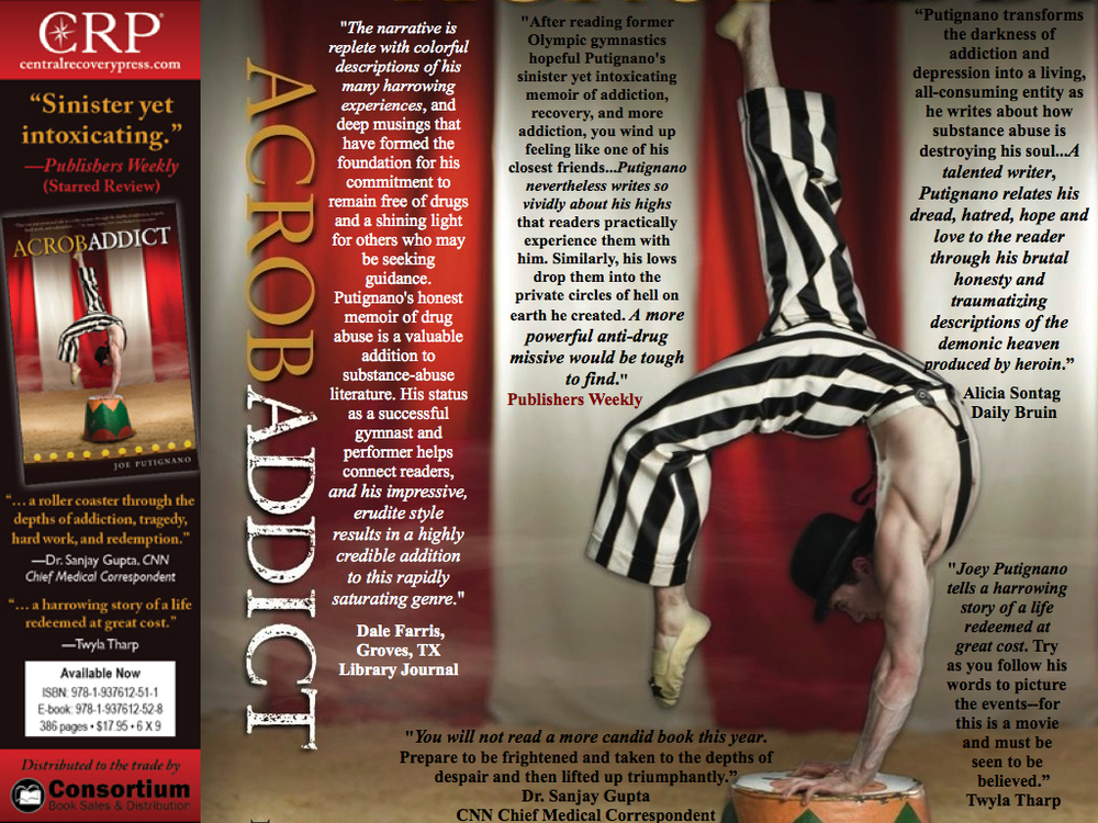 Acrobaddict can be purchased at Barnes & Noble, Amazon, Itunes, and your local book store.