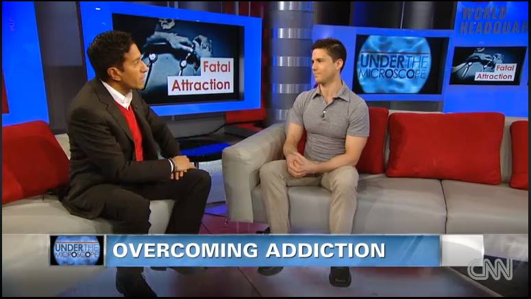 Joe Putignano talks to Dr. Sanjay Gupta on CNN about his memoir Acrobaddict and heroin addiction