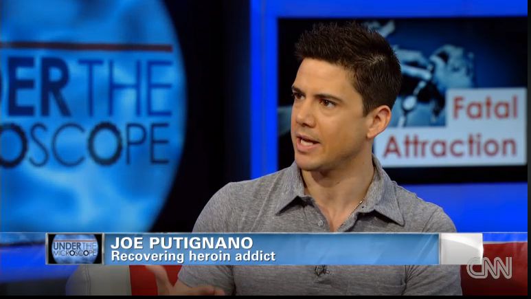 Joe Putignano talks to Dr. Sanjay Gupta on CNN, about his memoir Acrobaddict and heroin addiction.