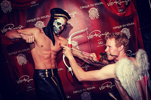 The day I killed Cupid, at Cirque du Soleil. Happy October 1st everyone. #tbt #gaygymnast #gayathlete #gay #author #acrobat #gymnast #Acrobaddict #gaytrainer #instagay #healthylifestyle #gayjock #model #cirque #joeputignano #crystalman #cirquedusoleil #recovery #broadway #contortionist #addict #recovery #sober #heroin #drugfree #performer #acrobaddict #shirtlessguys #dancer #gayinked