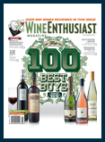 Wine Enthusiast Editors Honored
