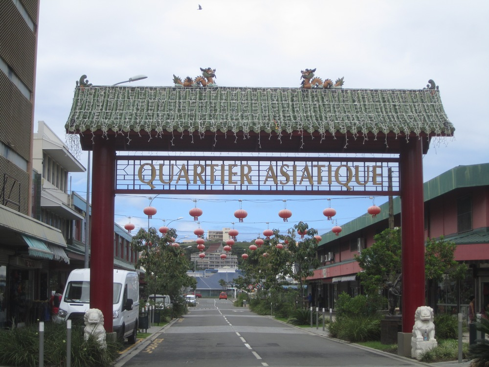 Noumea's Chinatown is home to restaurants offering delicious specialties.