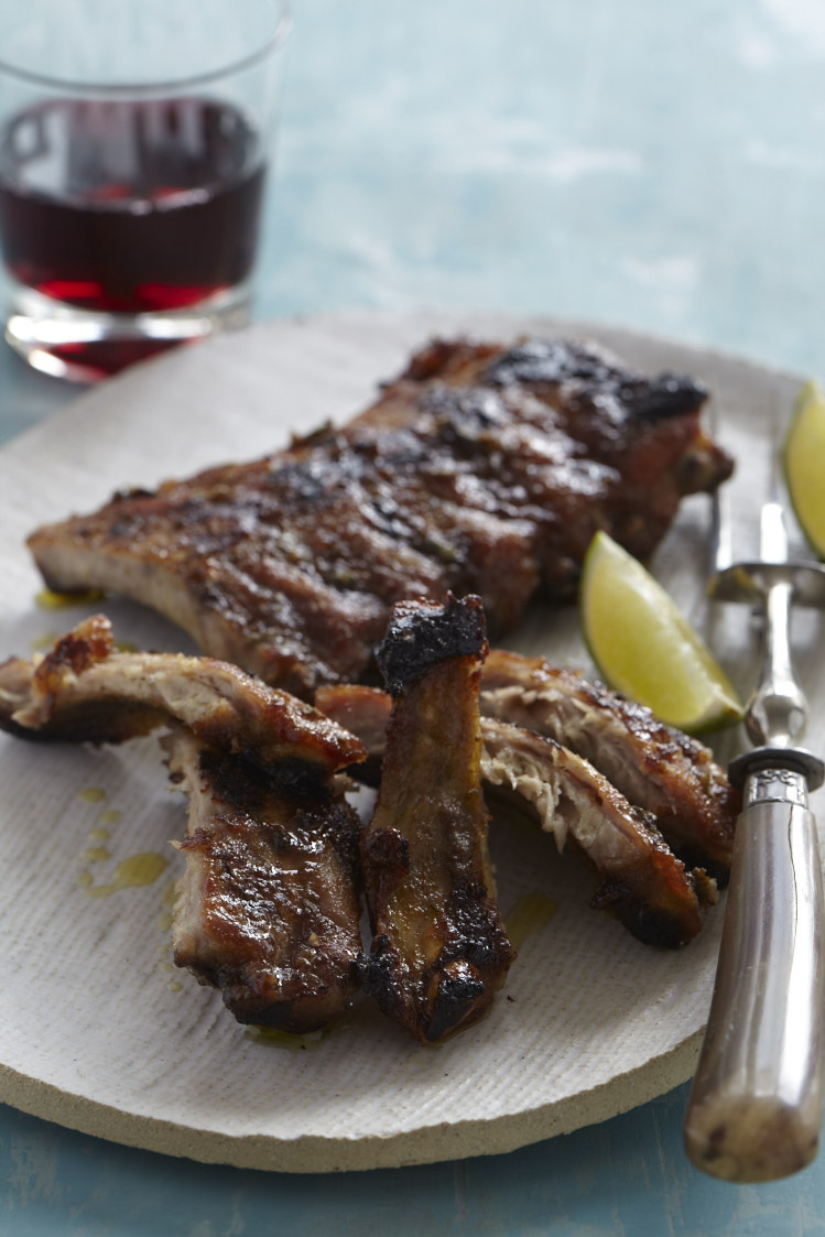 Mikes Caribbean Spiced Ribs. Photo by Frances Janisch for The Fire Island Cookbook