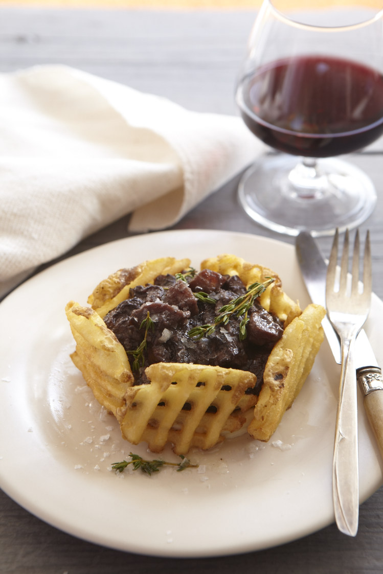 Elegant Beef Bourguignon, from The Fire Island Cookbook. Photo by Frances Janisch