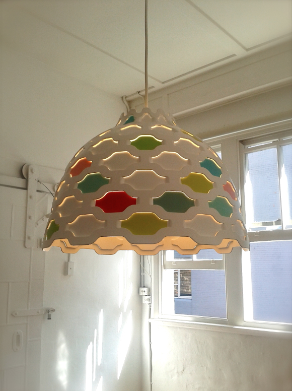 LC Shutter light  by Louise Campbell for Louis Poulsen.