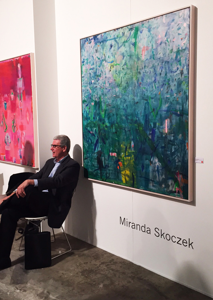 Miranda Skoczek represented by Edwina Corlette Gallery, Brisbane