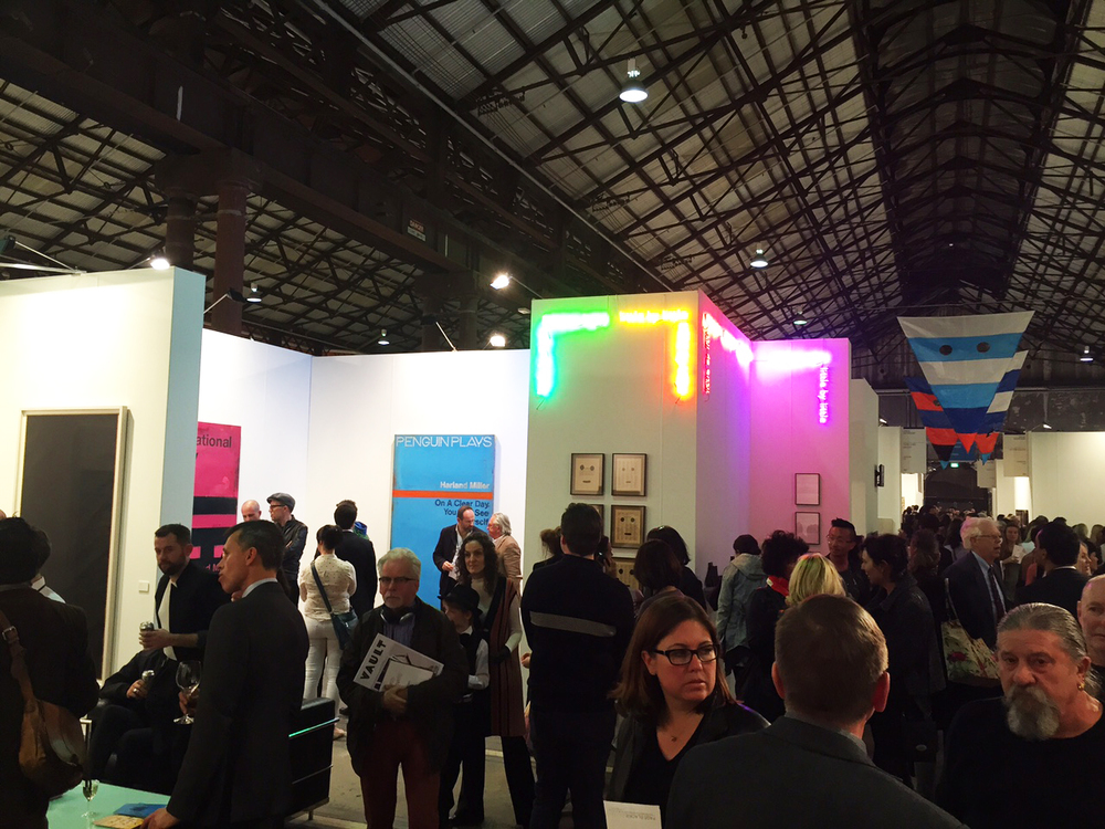 Browsers and serious collectors amass; Sydney Contemporary drew thousands of art lovers and discoverers from all over.