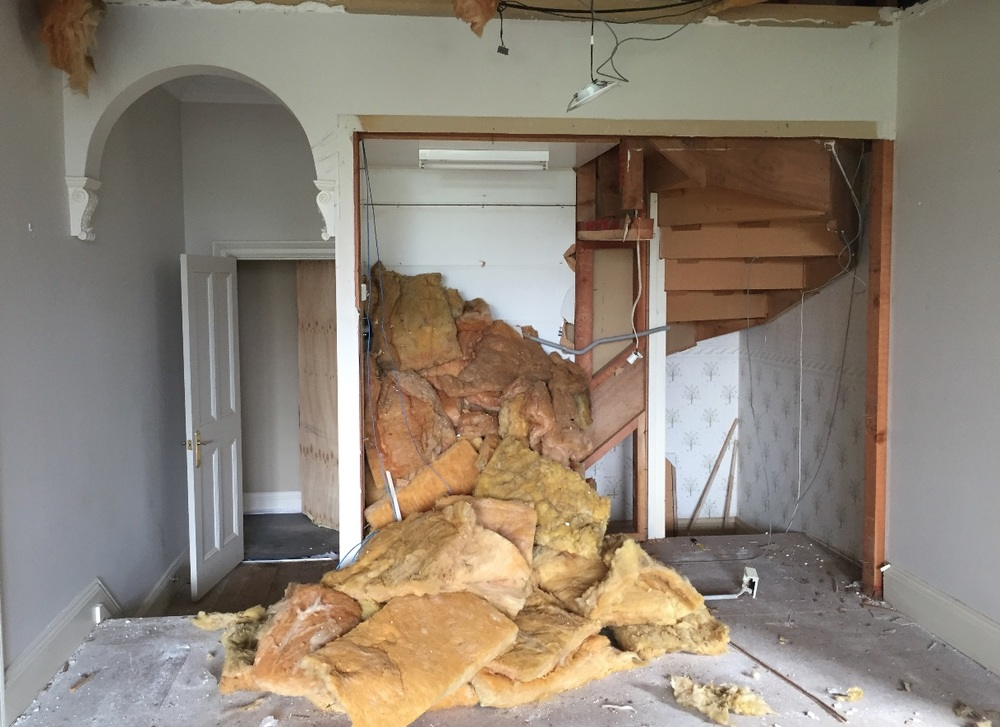 Our clients and their two small children have moved out whilst we moved in and (carefully!) bulldoze our way through this federation home in order to reveal its full glory and potential!