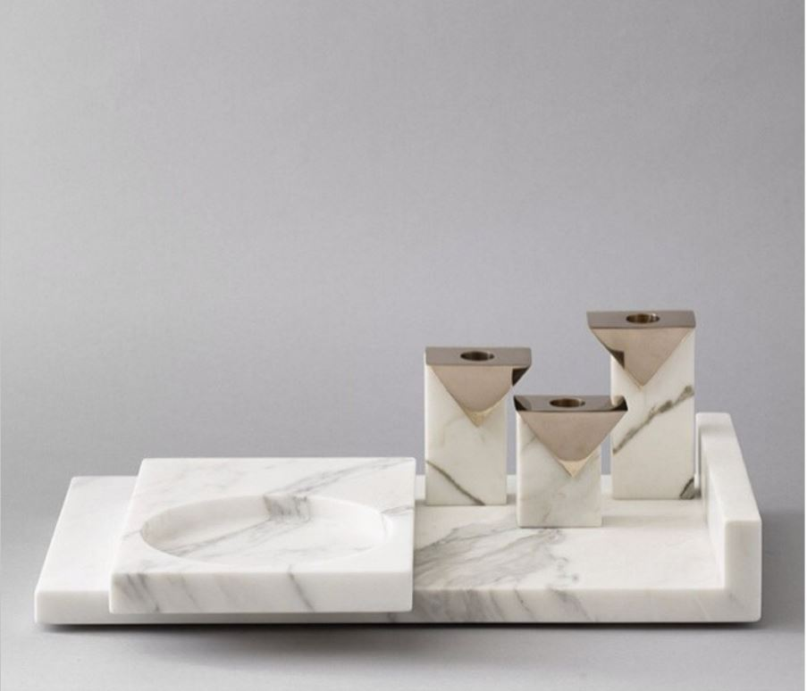 Addy  is swooning over these candleholders by Hava Studio where 'emotional landscapes and invisible cities unite!'