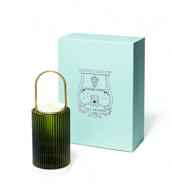 La Promeneuse  – a new decorative object designed to diffuse the most emblematic fragrances of Cire Trudon, and Cyrnos – an aromatic citrus garden scent.