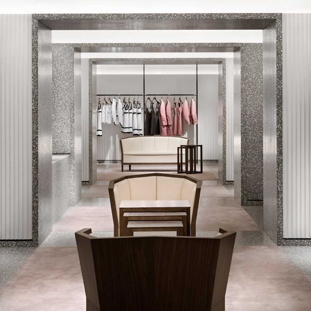 Valentino Concept Store in Milan by David Chipperfield
