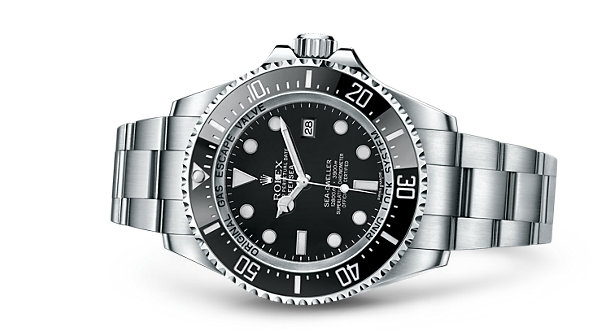 Stuart wants the Oyster Perpetual Deepsea  Rolex . How can you blame him?!