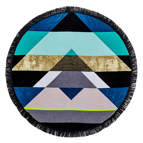 Finola is a big fan of the  Velour   Mojito Circle Beach Towel , the perfect roundie for days spent relaxing and frolicking at the beach.