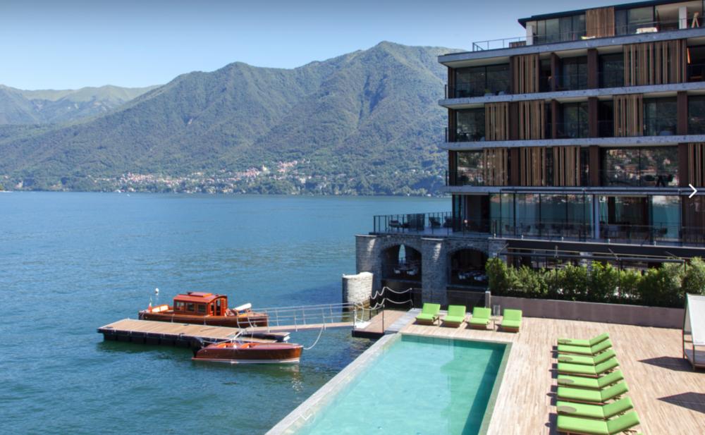Il Sereno Hotel, Lake Como, Italy