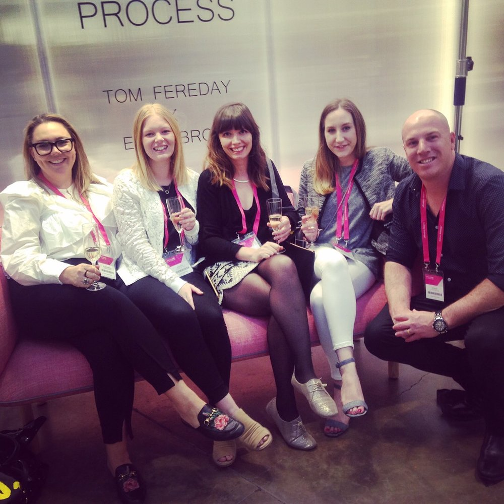 The AKD Team #outandabout: Alex, Maddie, Jess, Demi and Stuart