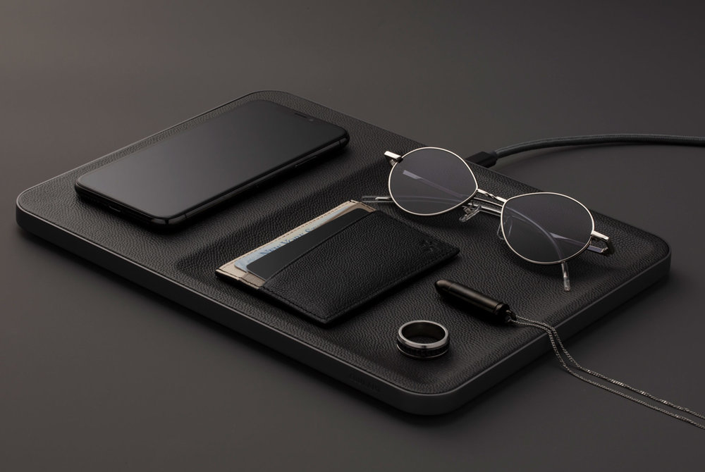 For the tech-savvy dad who doesn't want to compromise on style,  Courant 's Catch:3 fast wireless charging device doubles up as an accessory organiser. Handsomely wrapped in Italian leather, it would look swish on any desk top or side table.