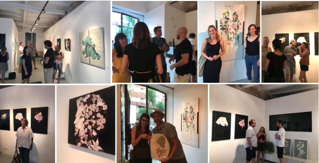 "Location: Barcelona. SpainGallery: Born Barcelona GalleryJuly 2018 ""Healing Nature"" solo exhibition by Karenina Fabrizzi"