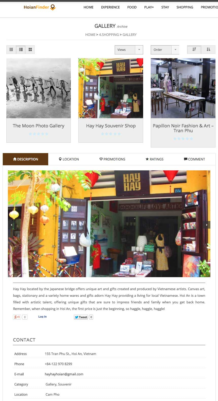 Hoi An Finder