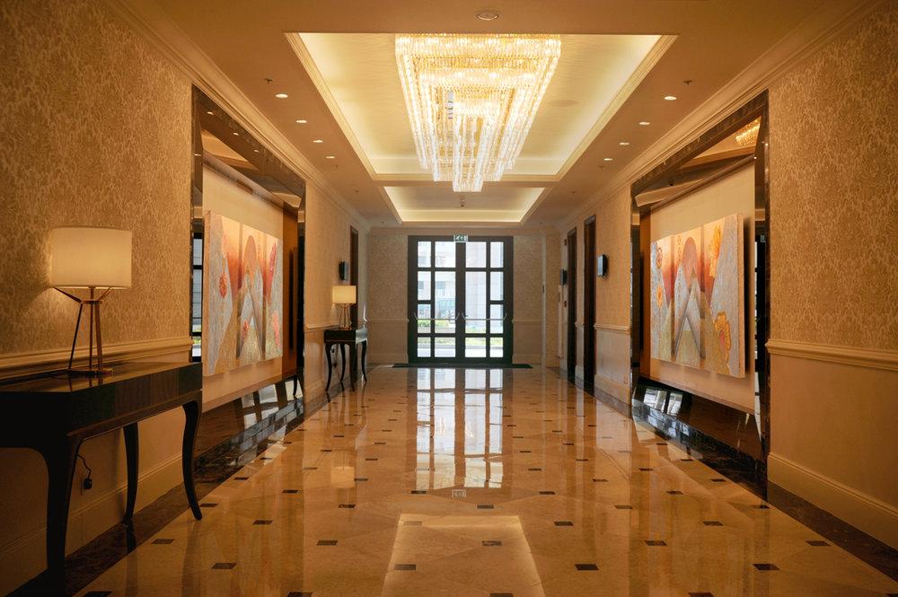 Sheraton Danang Function hallway artwork