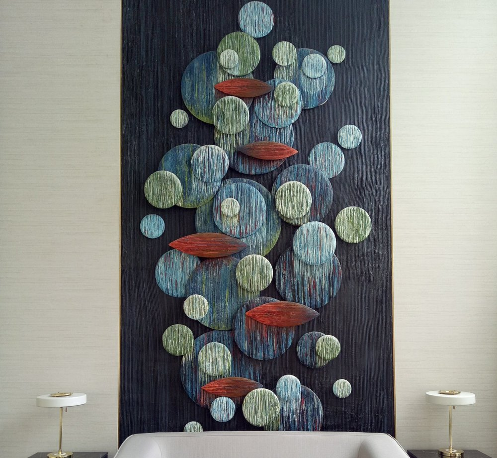 Bach Dang Lobby Complex artwork danang